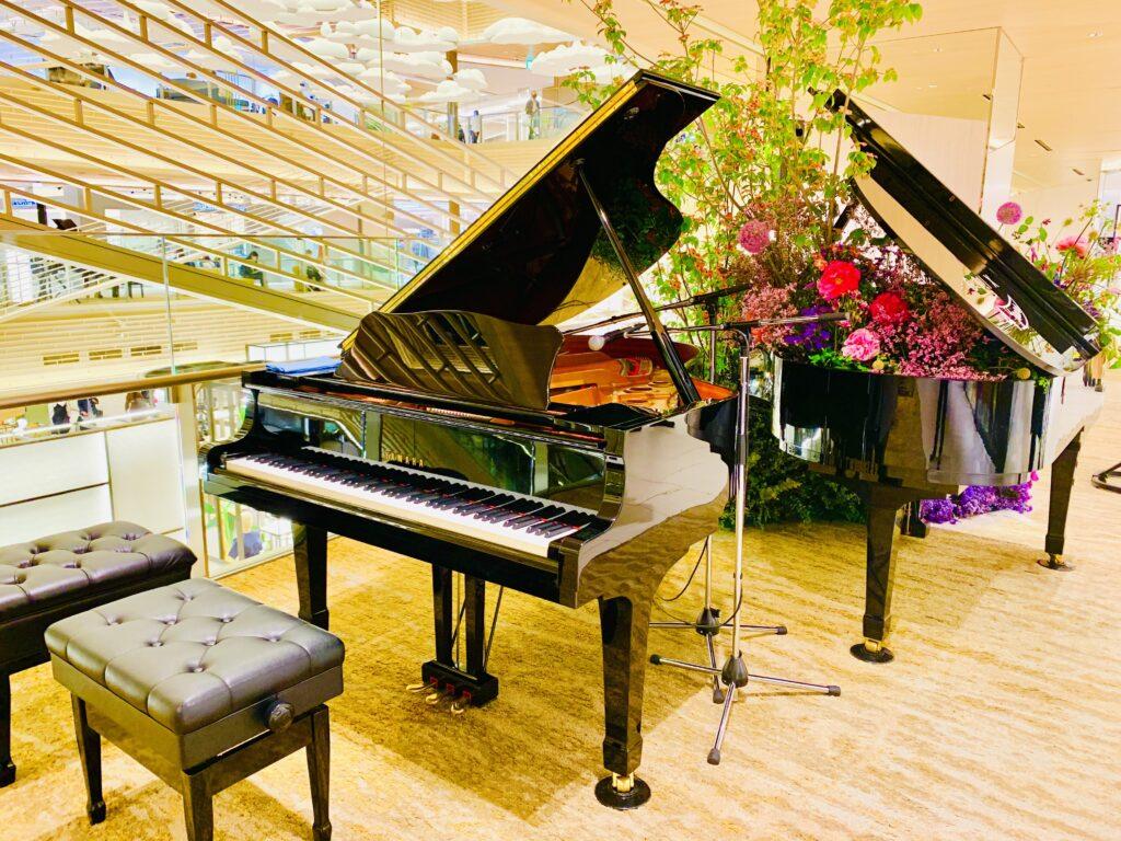 綺麗なグランドピアノ