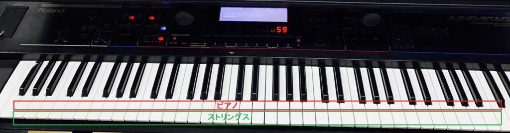 キーボード鍵盤レイヤー