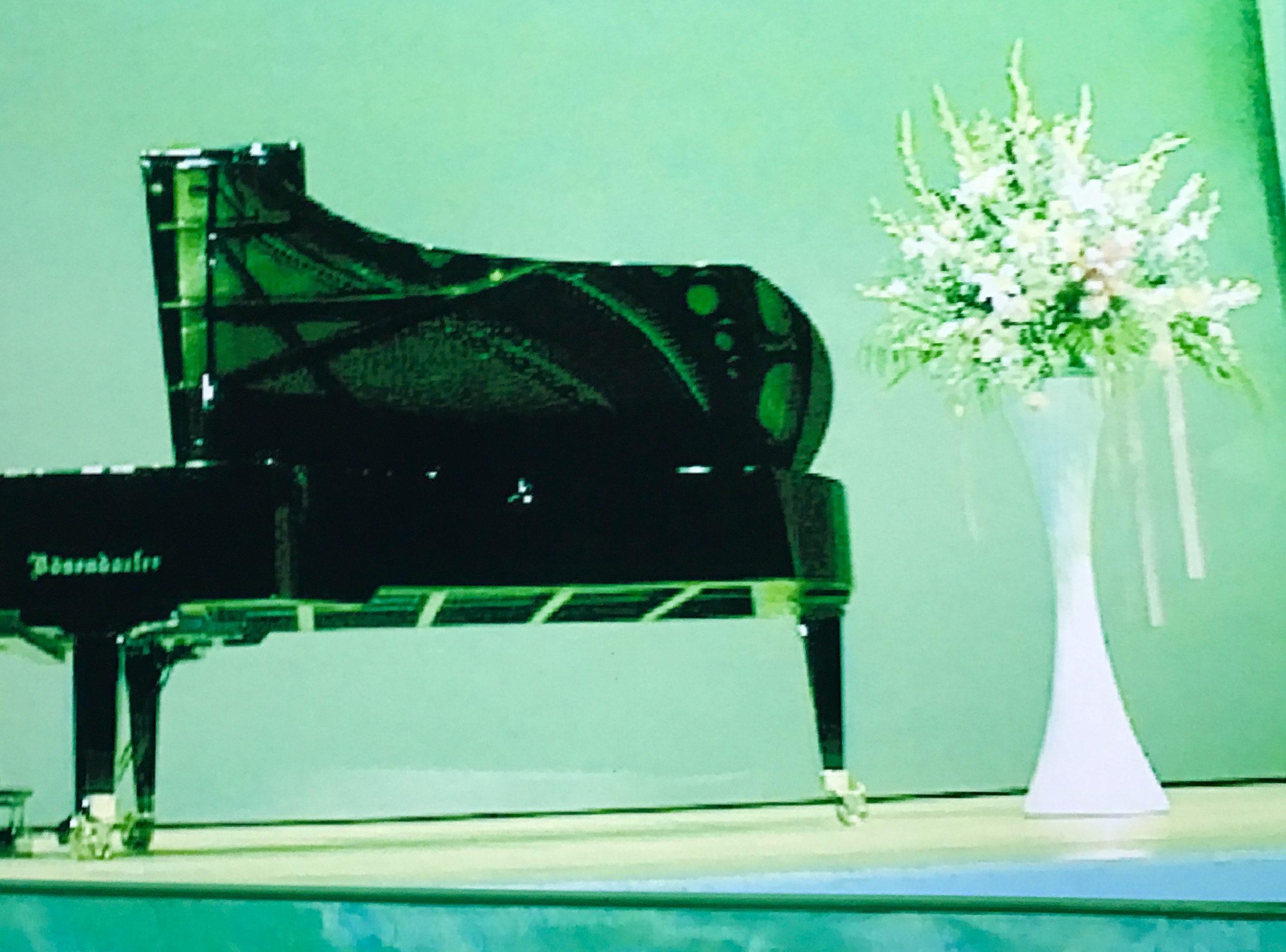 ピアノ発表会の風景