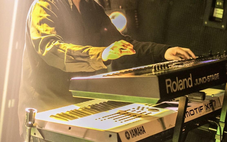 ライブのキーボード