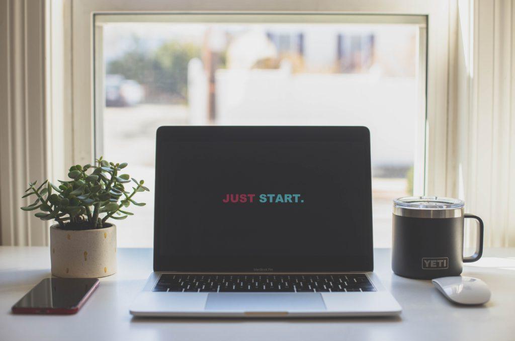 ブログを始めようというPC