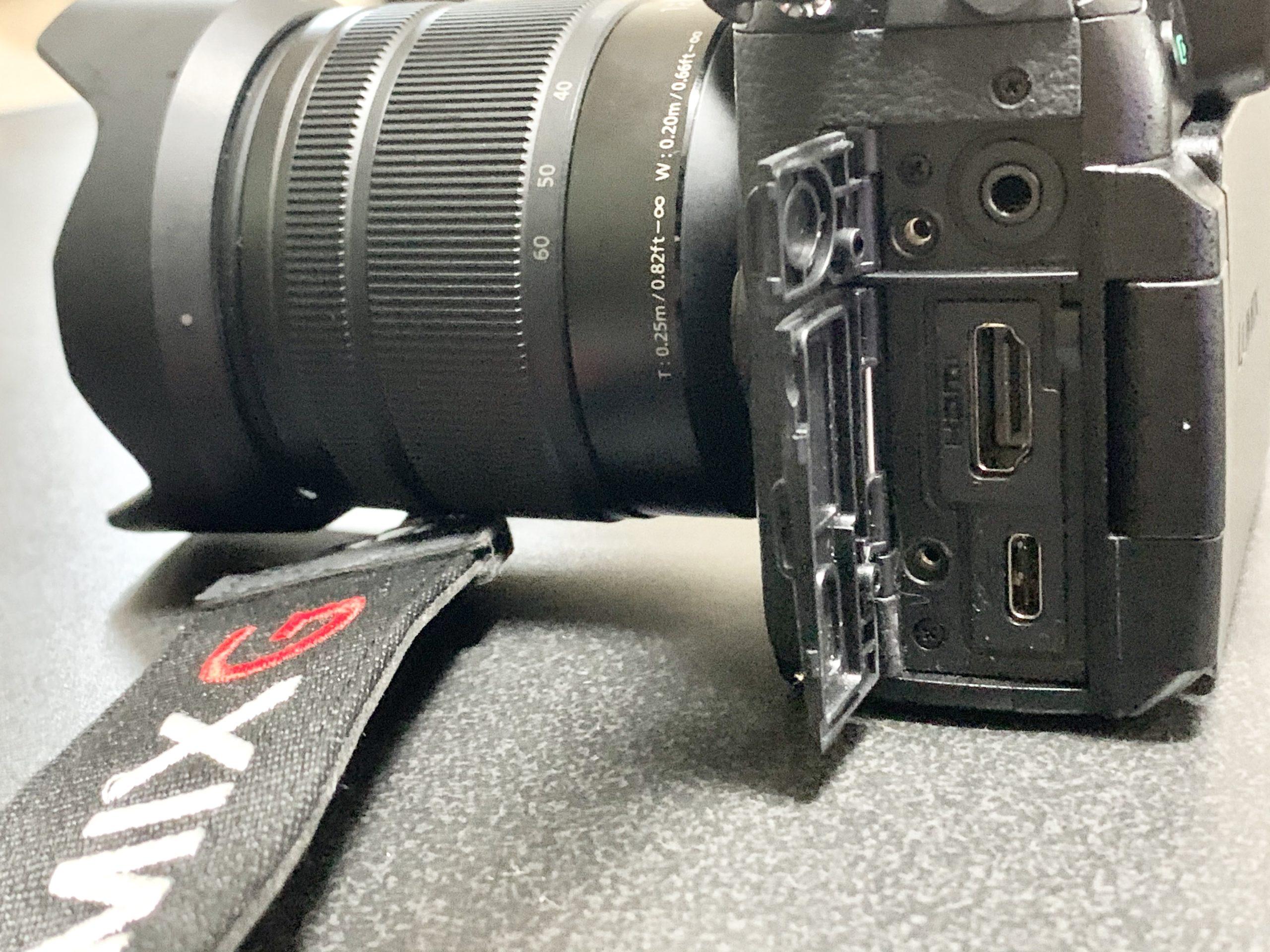 カメラの背面