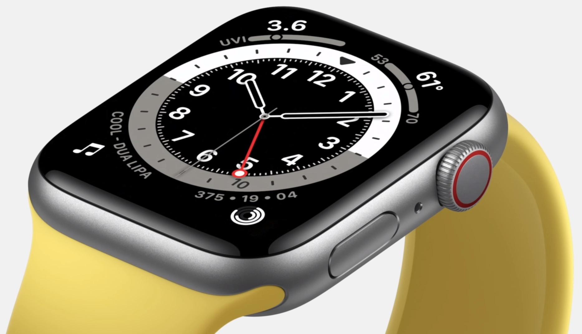 Apple Watch イエロー