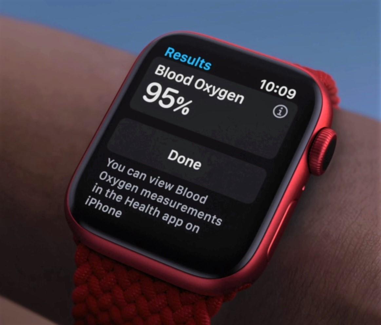 Apple Watch Series 6画面