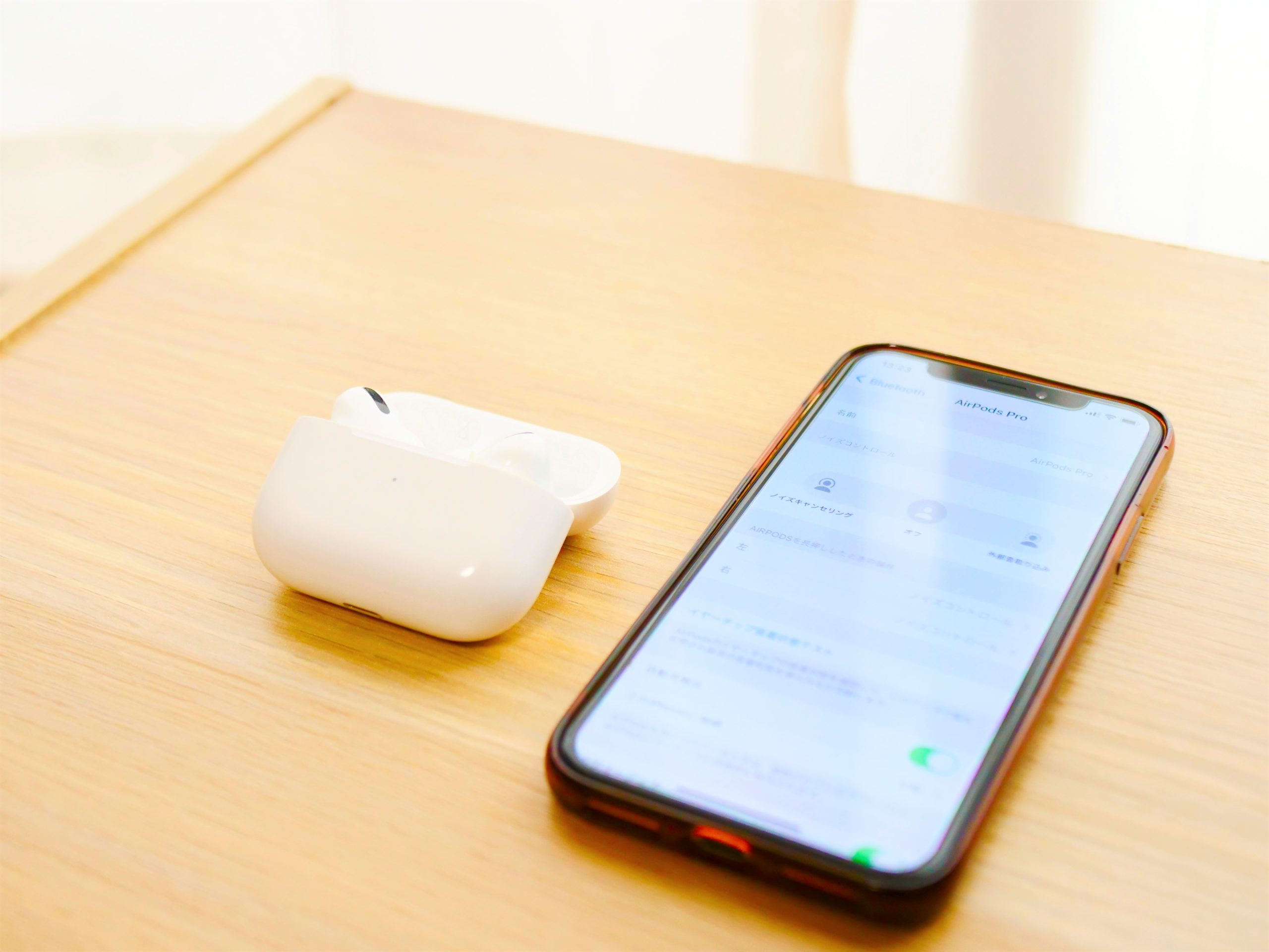 AirPods Proアップデート