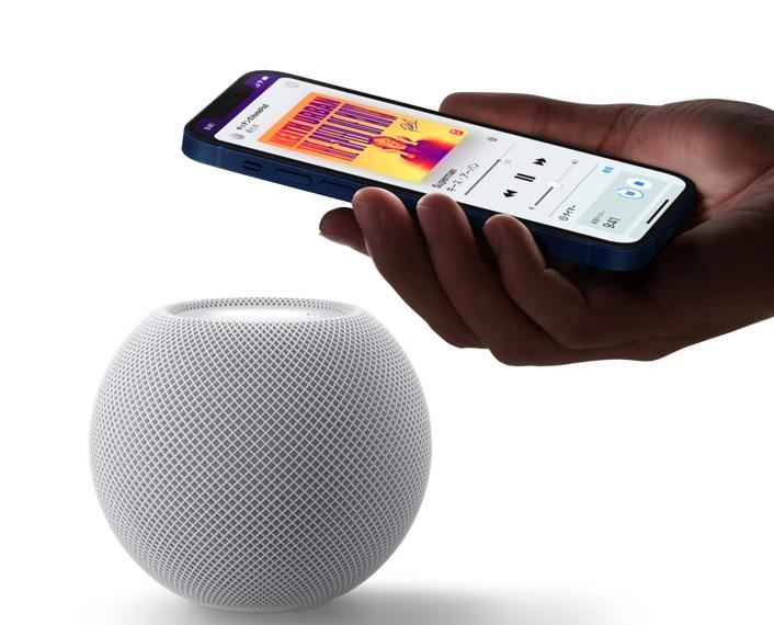 HomePod miniで音楽再生