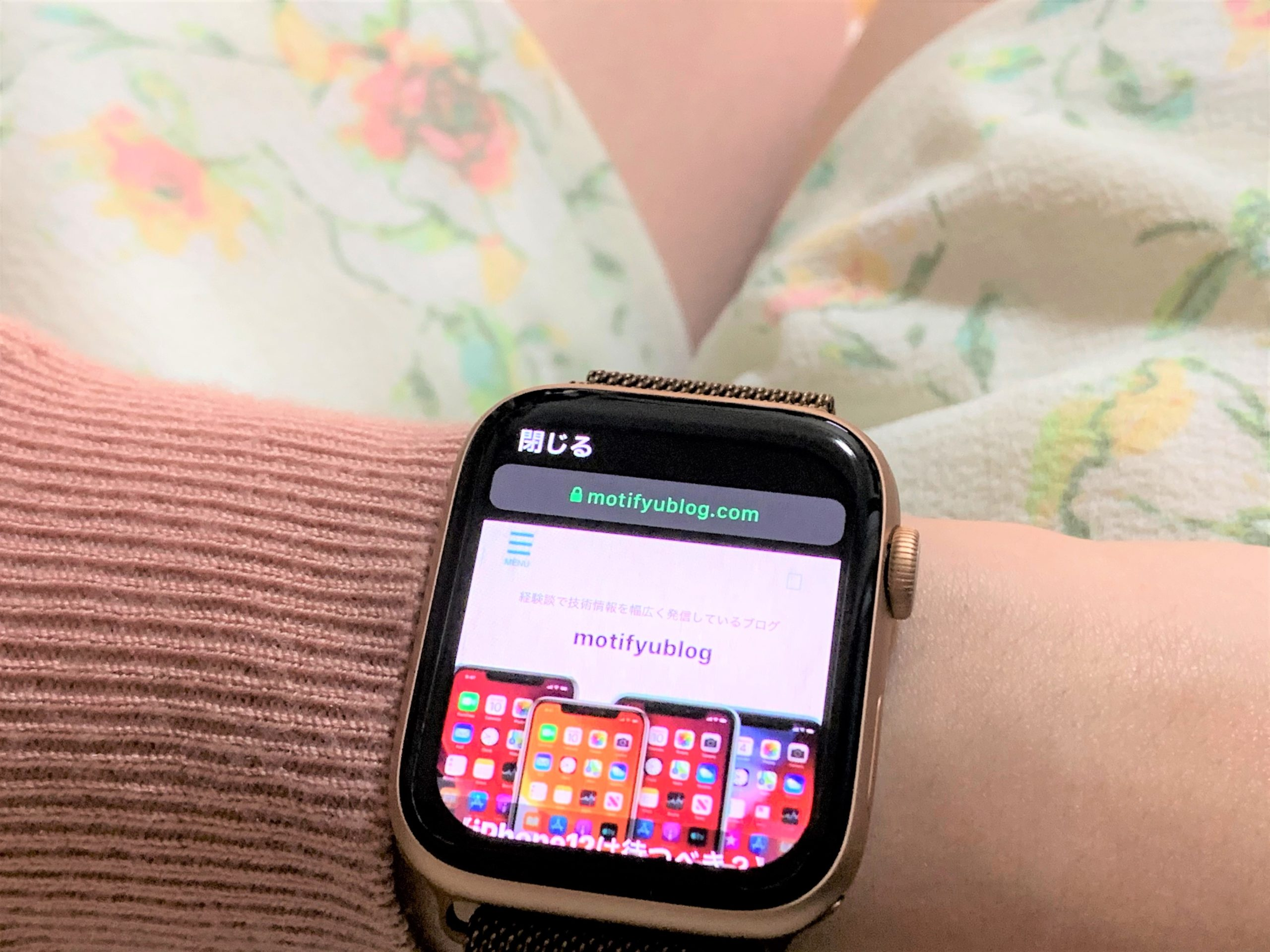 Apple WatchでWeb閲覧