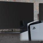 PS5とテレビ