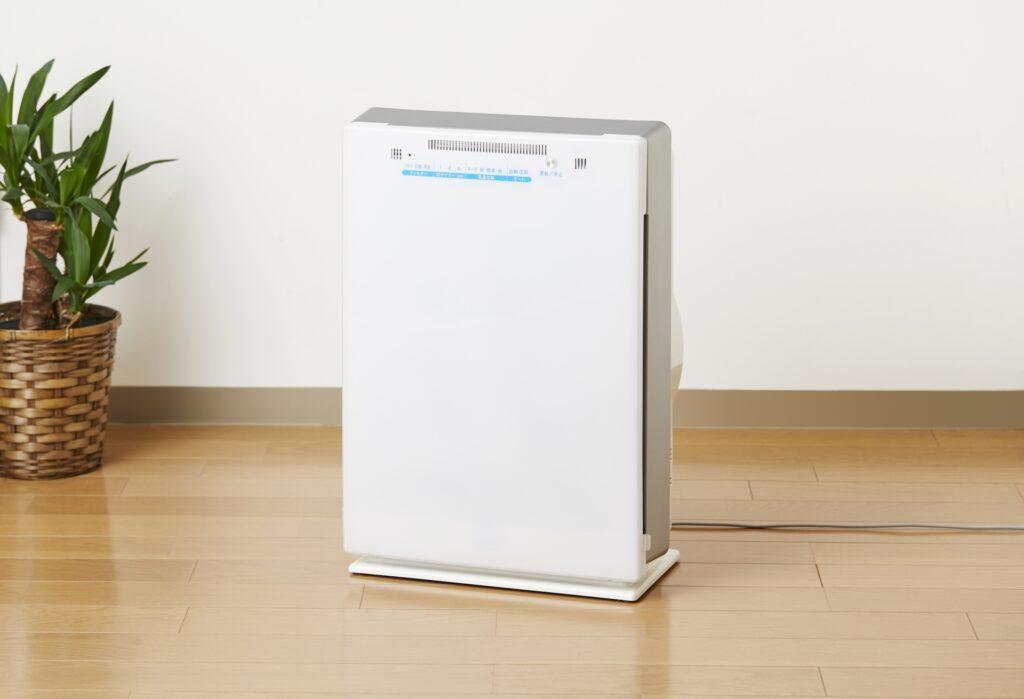 空気清浄機インテリア