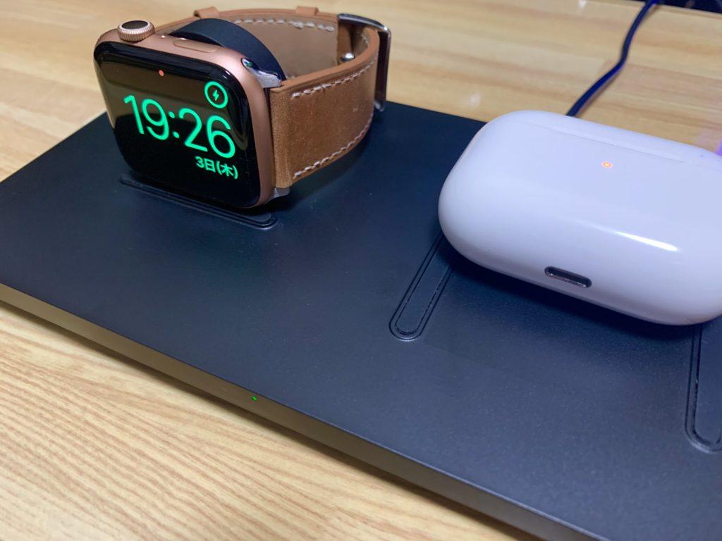 Apple WatchとAirPods Pro