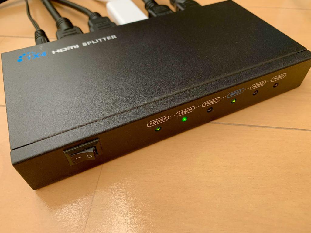 HDMI分配器本体