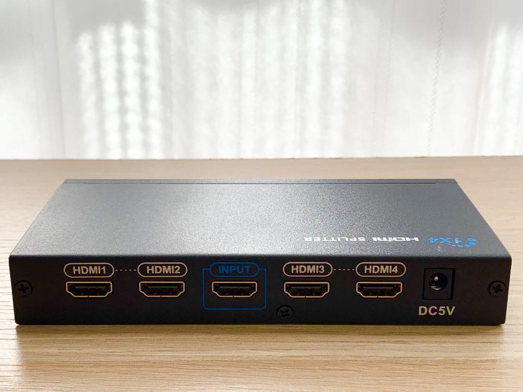 HDMI分配器ポート