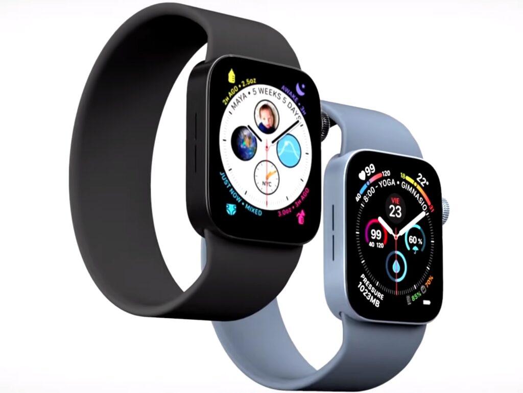 Apple Watch7本体デザイン
