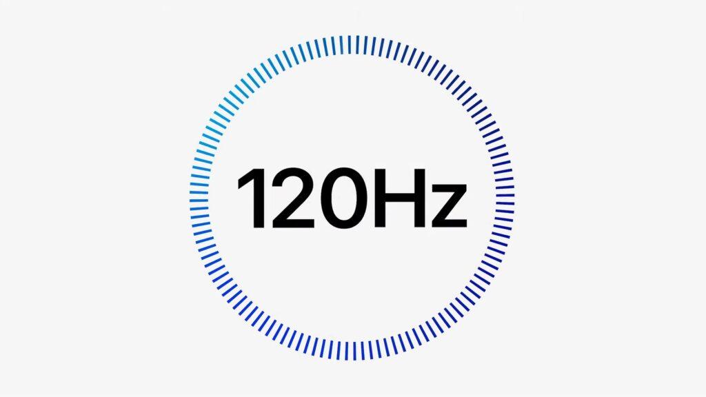 120Hzリフレッシュレート対応