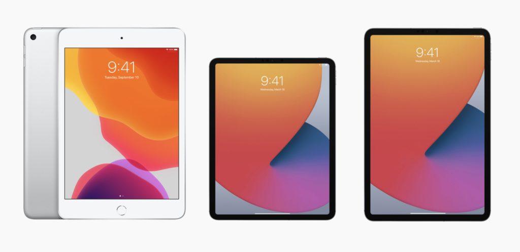 新型iPadシリーズ