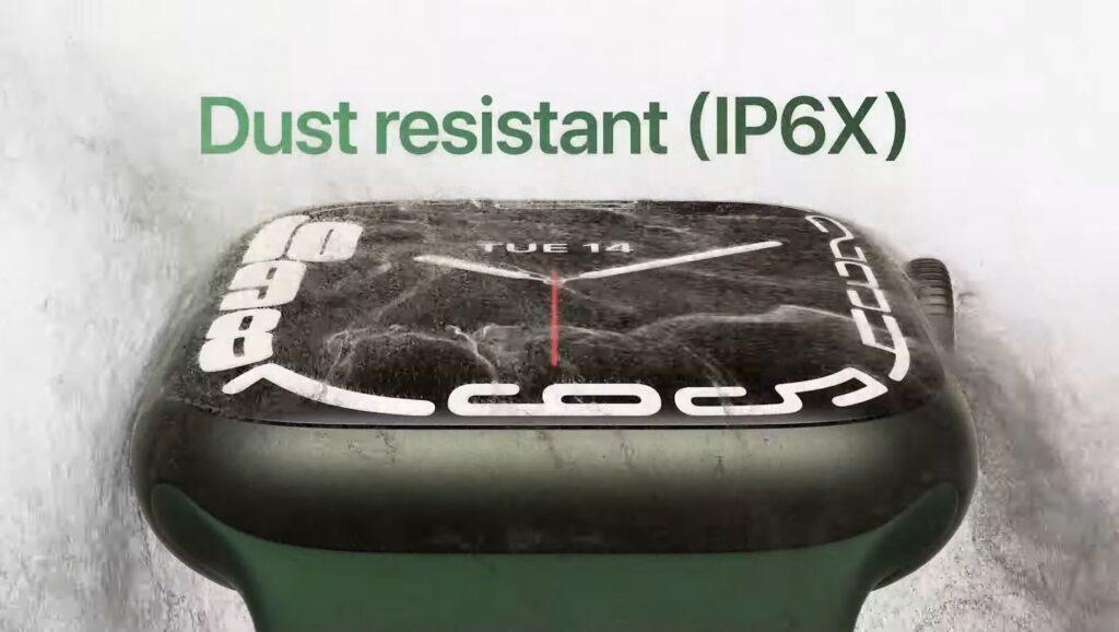 防塵性能がIP6Xに向上
