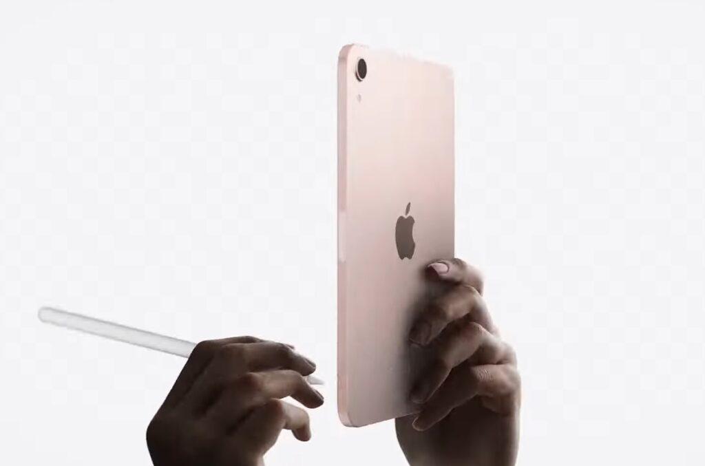 iPadmini2021のデザイン