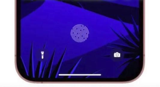 ディスプレイ内蔵Touch ID