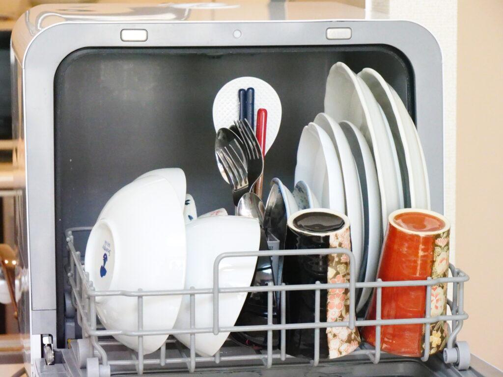 食洗機の庫内