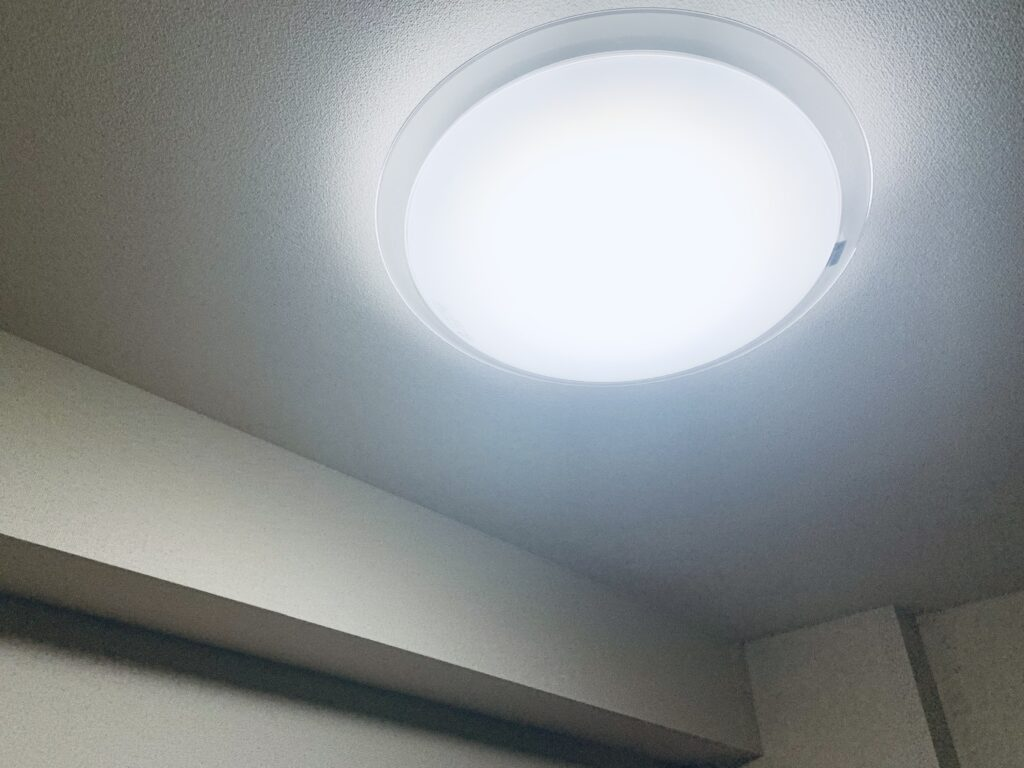 LEDシーリングライト部屋