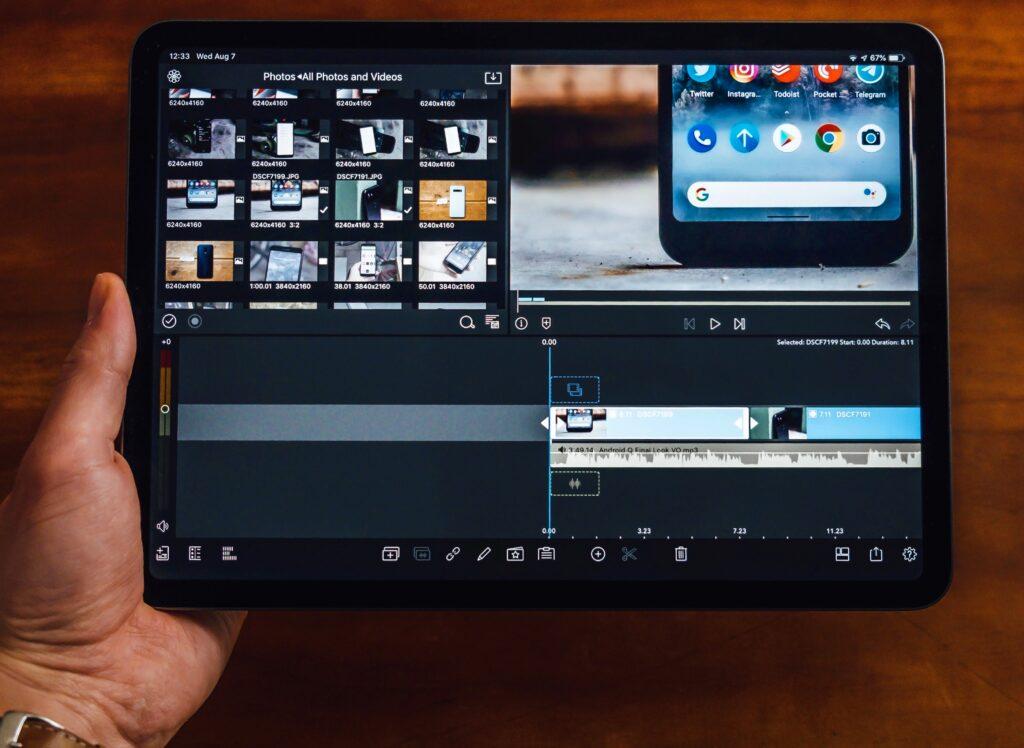 iPad Proで動画編集