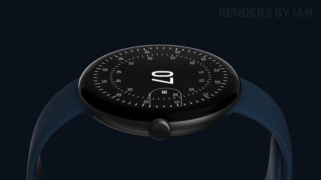 Google Pixel Watch_リークデザイン