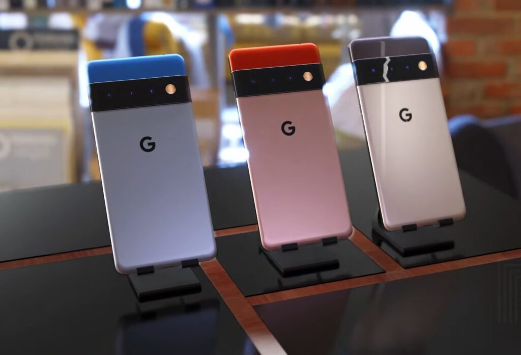 Google Pixel 6_design