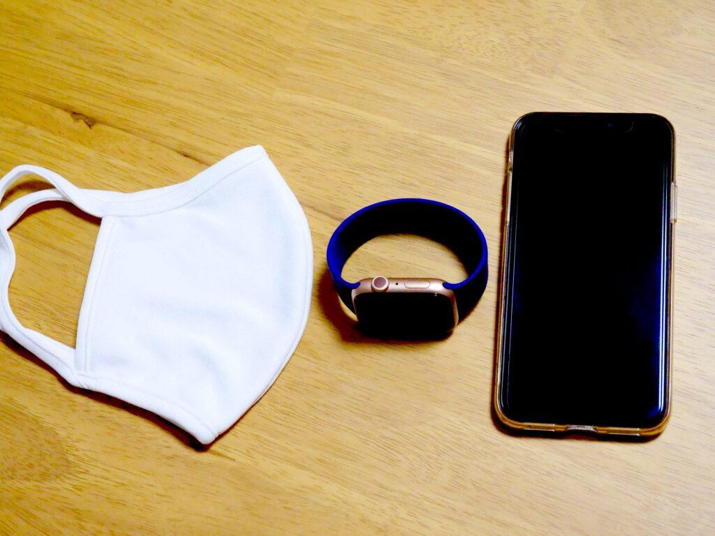 マスクとiPhone