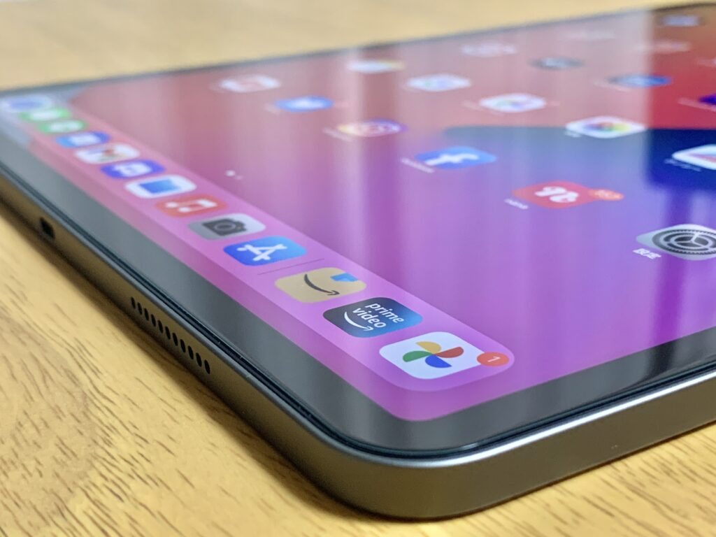 iPad Pro画面端