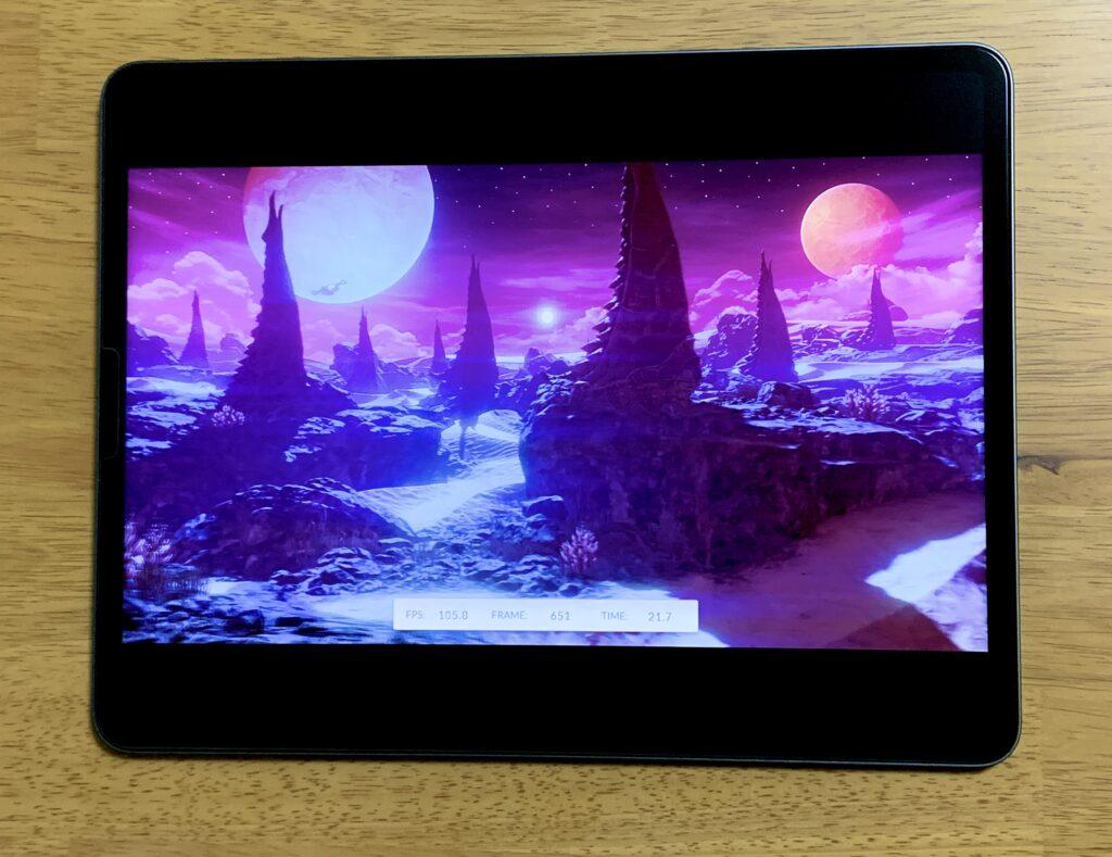 3D MarkベンチマークiPad Pro
