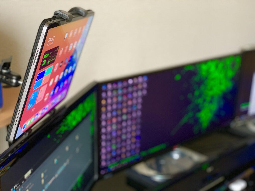 iPad Proとモニター