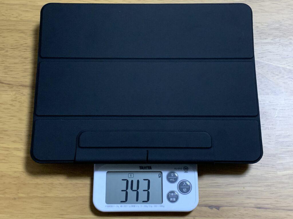 ESR iPad Proケース重量