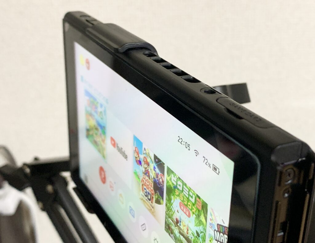 Switch取り付け対応