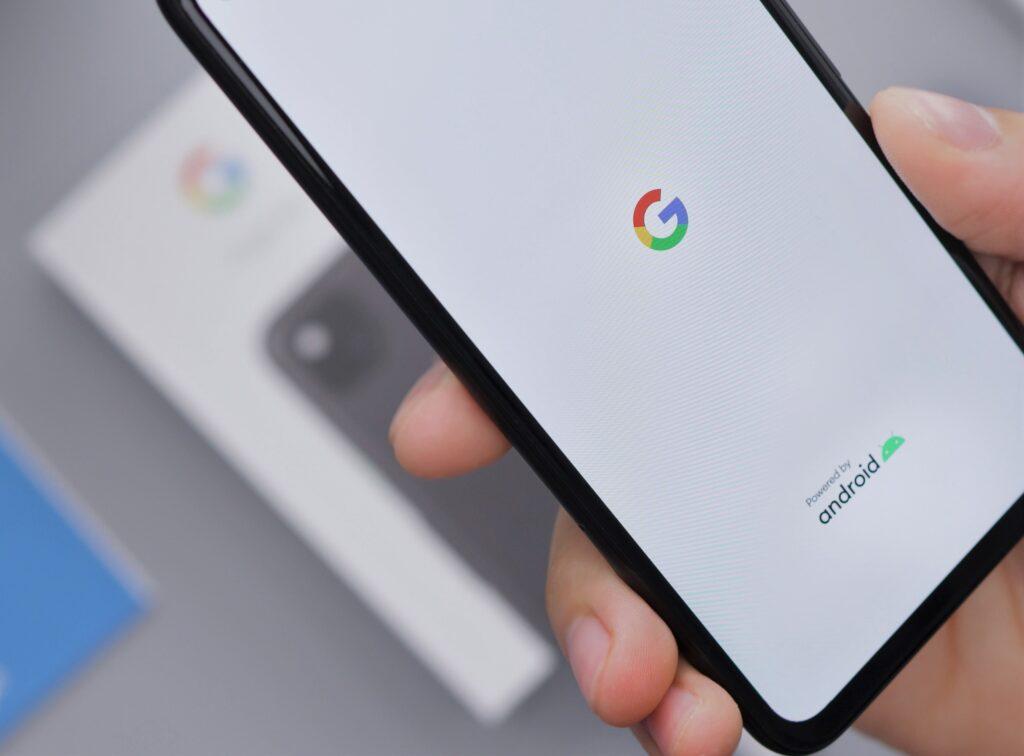Google Pixelの画面
