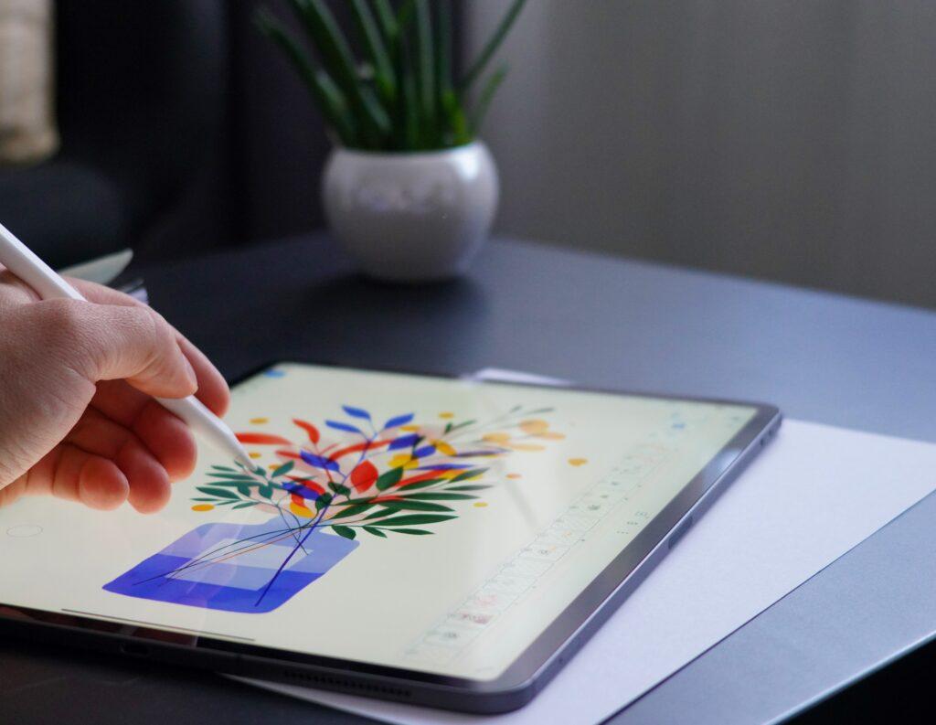 iPad Proでイラスト制作
