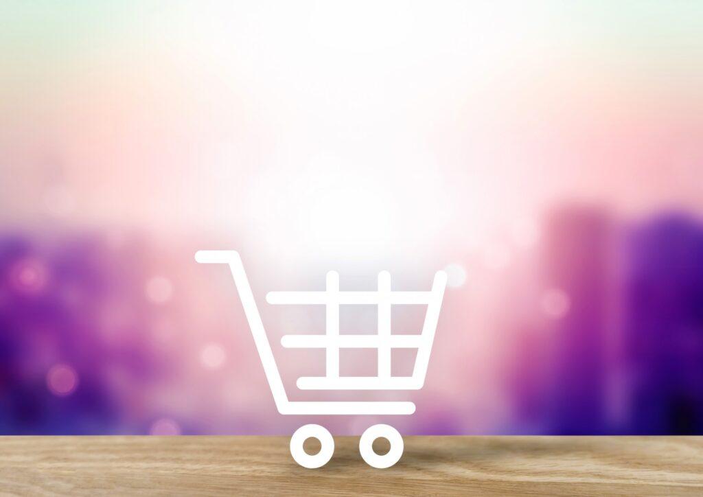 ネットショッピング_イメージ背景