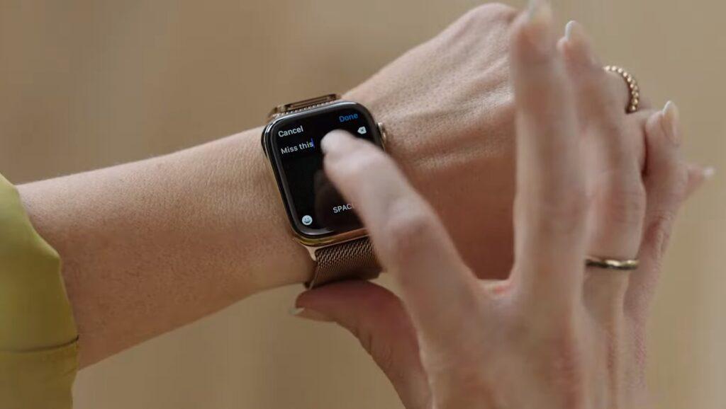Apple Watchでのテキスト入力