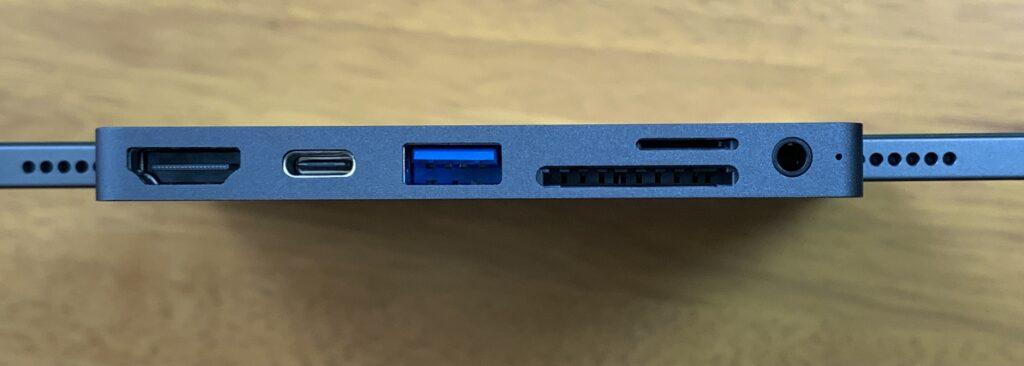 USBハブのポート