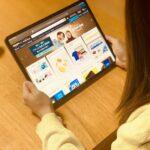 新型iPad Proでネットショッピング