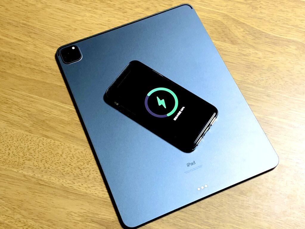 iPad Proリバースワイヤレス充電機能