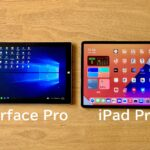 Surface Pro7_新型iPad Proを比較