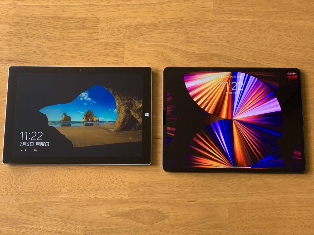 Surface ProとiPad Proの違い