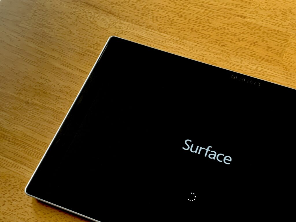 Surface Pro起動