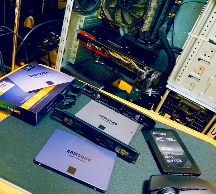 SSDの換装