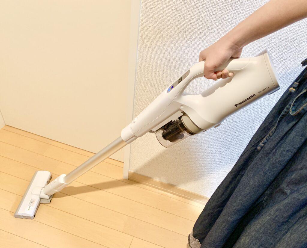 コードレス掃除機の使い方