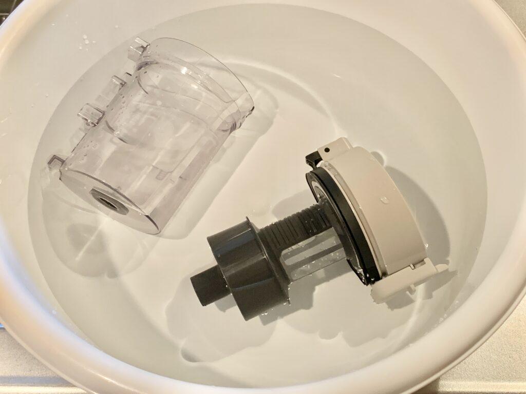 コードレス掃除機_ダストボックス丸洗い