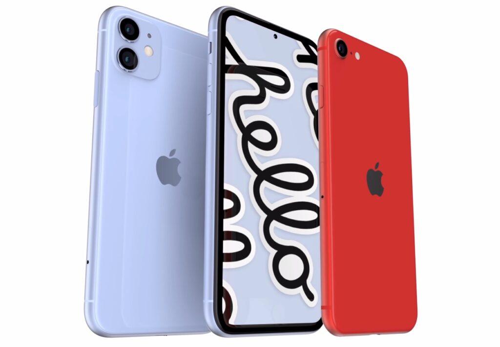iPhone SE 3_リークデザイン