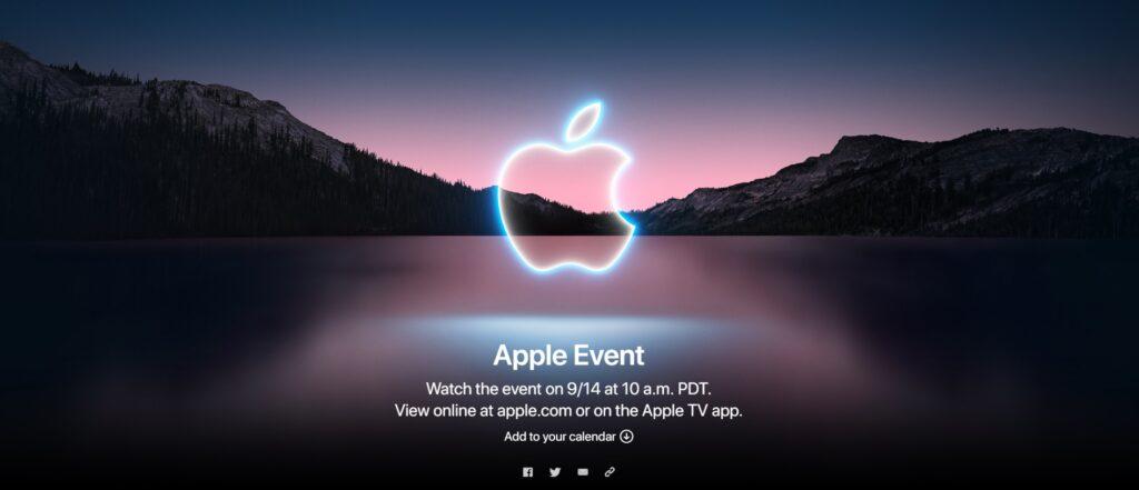 Appleイベント2021