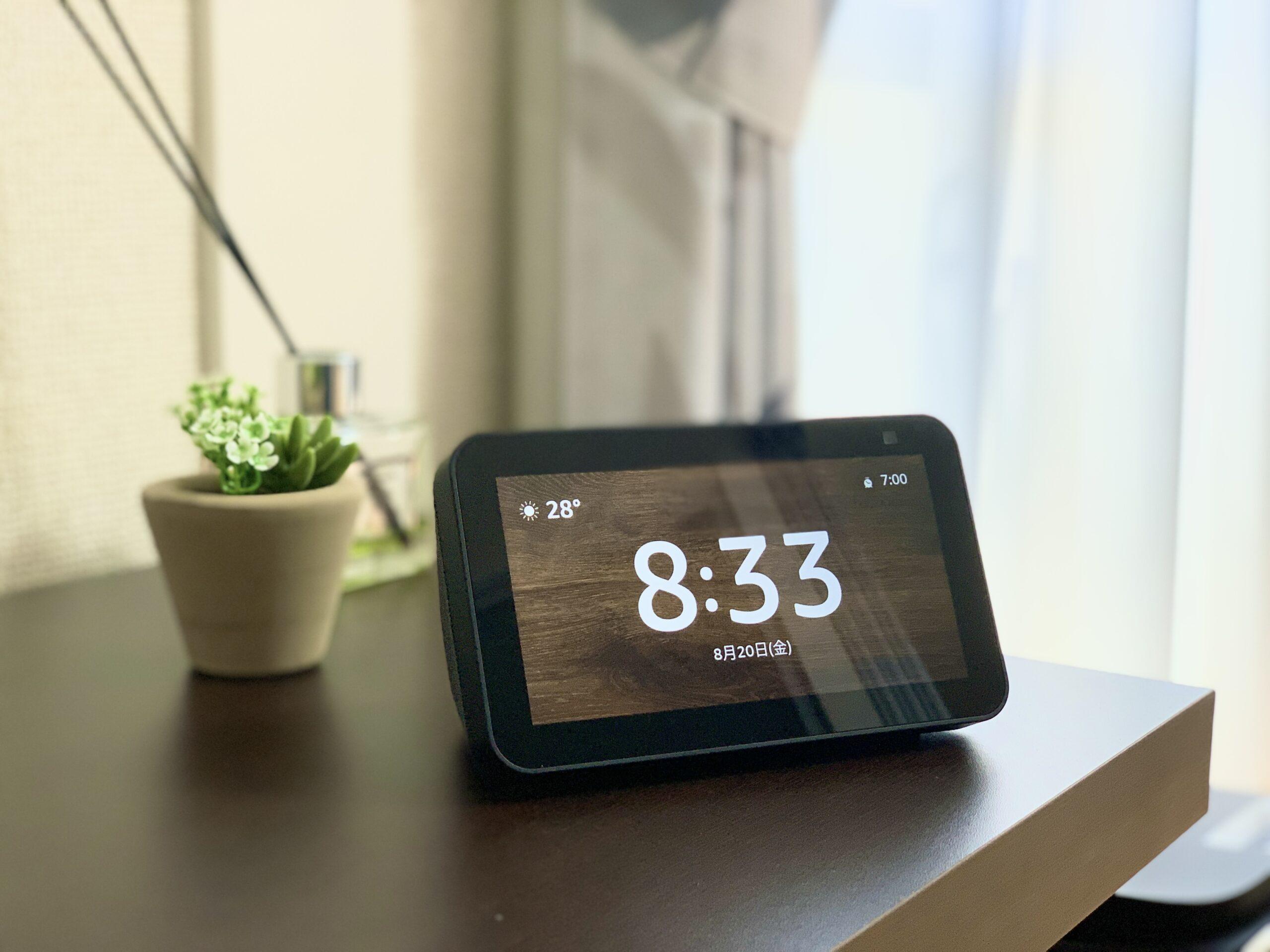 Amazon Echo Show 5_リビング設置