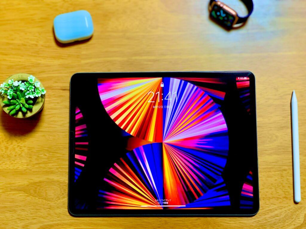 iPad Proとデスク周り